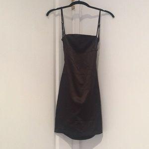 d22fe8f24ccd oh polly Dresses | Cutting Shapes Satin Mini Dress | Poshmark